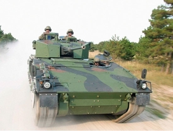 ASCOD Scout variant from General Dynamics UK preferred bider for Future Rapid Effect System Specialist Vehicles (FRES SV)