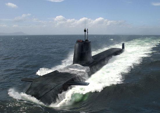 n3a2 - Royal Navy - Fleet Submarines (SSN) - Trafalgar Class