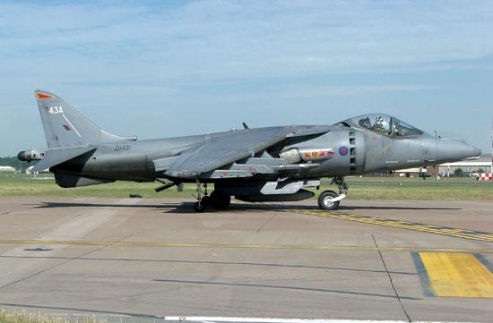 """英国""""鹞""""/""""海鹞""""战斗攻击机 Harrier & Sea Harrier"""