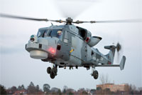 During January 2013 the first Wildcat delivered to the Royal Navy's 702W Squadron made its maiden flight from RNAS Yeovilton. With a more powerful engine than its Lynx predecessor, a new radar system with 360 degree coverage, state of the art sensors and a more robust fuselage, the Wildcat will be capable of operating in more extreme weather conditions.