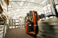 Temporary warehouse structures offer a fast and economically attractive alternative for your storage needs. De Boer storage structures are available at short notice, enabling a fast response.