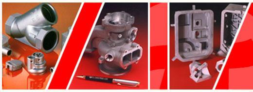 P I Castings Ltd, Steel investment castings, Aluminium investment