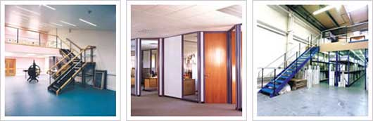 Solutions to these issues include a wide variety of office partitioning systems such as single and double skin partitions and steel partitioning.