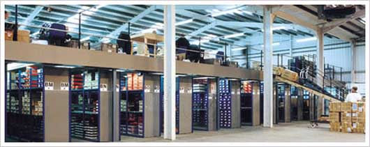 We provide mezzanine floors for commercial and industrial applications