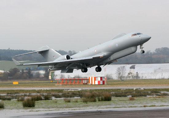 """空军世界 :: 英国皇家空军""""哨兵""""预警机 UK ASTOR SENTINEL R1 AWACS"""