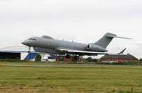 Sentinel R1 - ASTOR Aircraft - low pass at Broughton